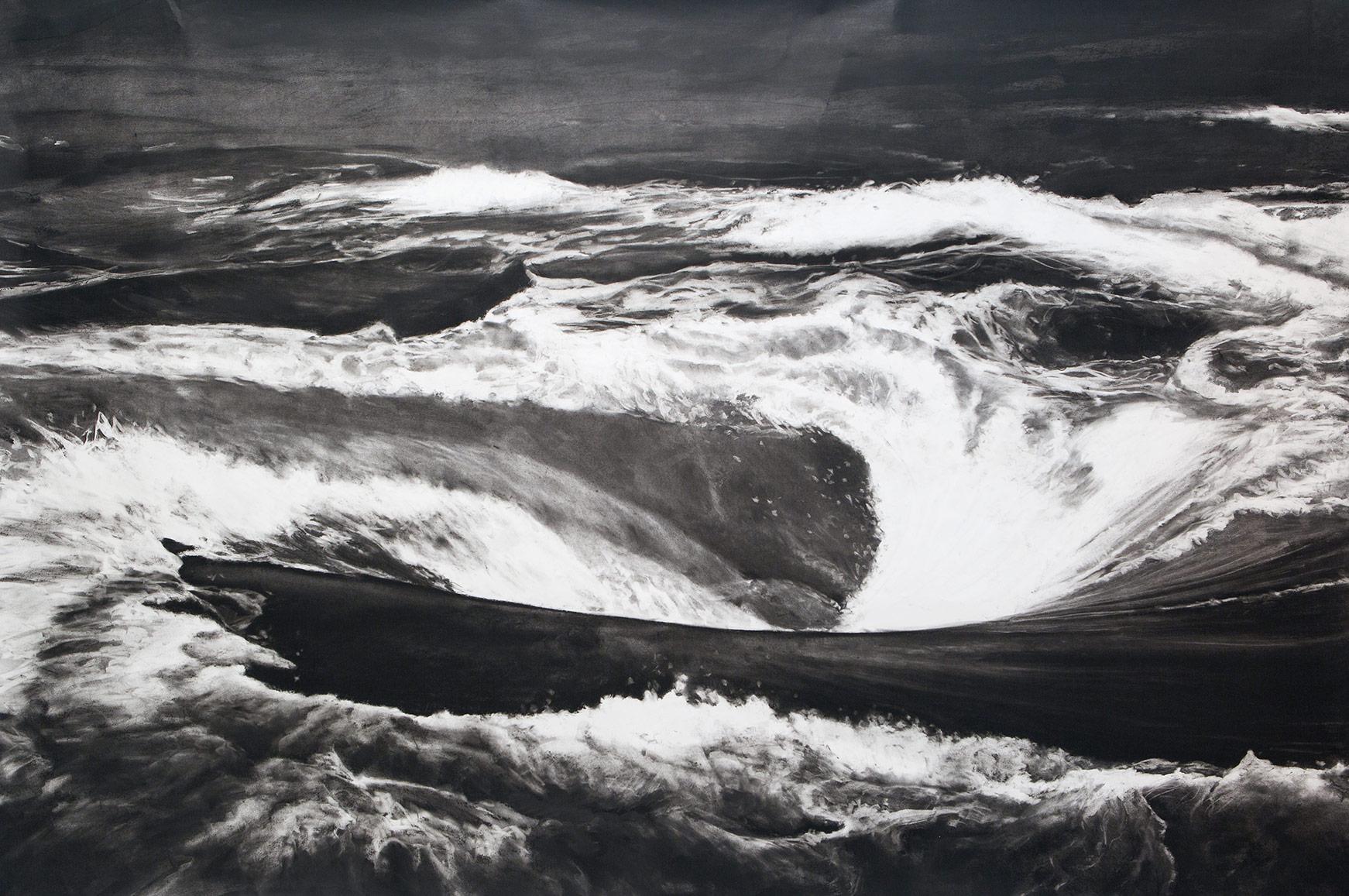 Raúl-ARTILES-Sin-Título-(de-la-serie-Black-Hole)-2015-detalle,-225-x-145
